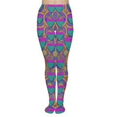 Merry Love In Heart  Time Women s Tights