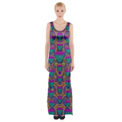 Merry Love In Heart  Time Maxi Thigh Split Dress