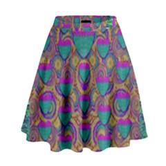 Merry Love In Heart  Time High Waist Skirt