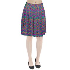 Merry Love In Heart  Time Pleated Skirt
