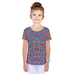 Merry Love In Heart  Time Kids  One Piece Tee