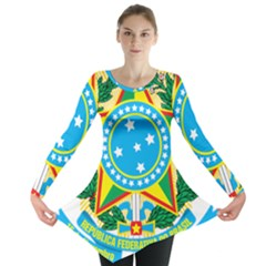 Coat of Arms of Brazil Long Sleeve Tunic