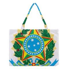Coat of Arms of Brazil Medium Tote Bag