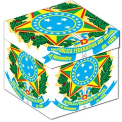 Coat of Arms of Brazil, 1971-1992 Storage Stool 12