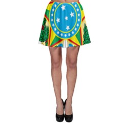Coat of Arms of Brazil, 1971-1992 Skater Skirt