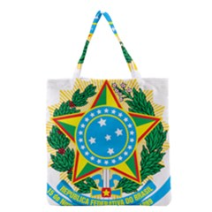 Coat of Arms of Brazil, 1971-1992 Grocery Tote Bag
