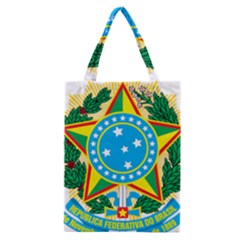 Coat of Arms of Brazil, 1971-1992 Classic Tote Bag