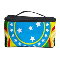 Coat of Arms of Brazil, 1971-1992 Cosmetic Storage Case