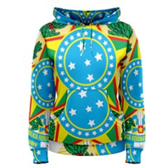 Coat of Arms of Brazil, 1971-1992 Women s Pullover Hoodie