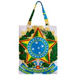 Coat of Arms of Brazil, 1971-1992 Zipper Classic Tote Bag