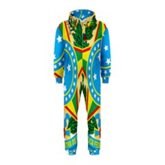 Coat of Arms of Brazil, 1971-1992 Hooded Jumpsuit (Kids)
