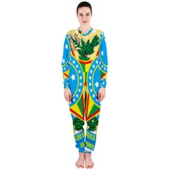 Coat of Arms of Brazil, 1971-1992 OnePiece Jumpsuit (Ladies)