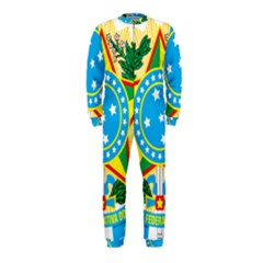Coat of Arms of Brazil, 1971-1992 OnePiece Jumpsuit (Kids)