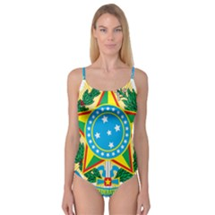 Coat of Arms of Brazil, 1971-1992 Camisole Leotard