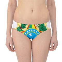 Coat of Arms of Brazil, 1971-1992 Hipster Bikini Bottoms