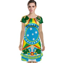 Coat of Arms of Brazil, 1971-1992 Cap Sleeve Nightdress