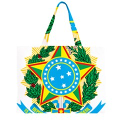 Coat of Arms of Brazil, 1971-1992 Large Tote Bag