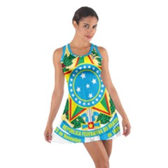 Coat of Arms of Brazil, 1971-1992 Cotton Racerback Dress