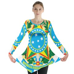 Coat of Arms of Brazil, 1971-1992 Long Sleeve Tunic