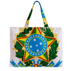 Coat of Arms of Brazil, 1971-1992 Medium Zipper Tote Bag