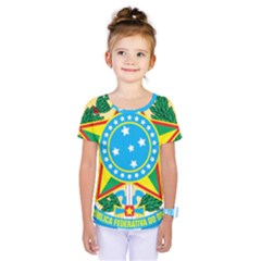 Coat of Arms of Brazil, 1971-1992 Kids  One Piece Tee