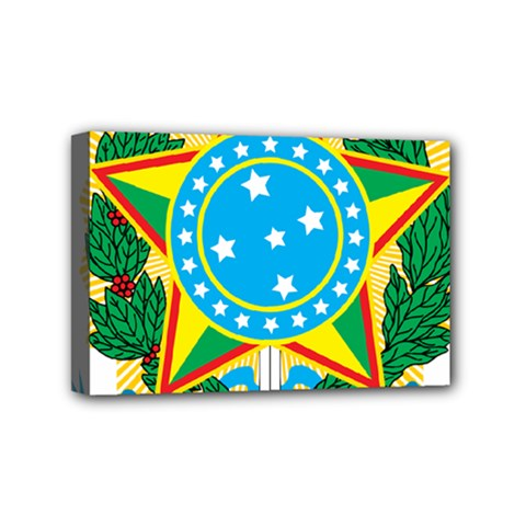 Coat of Arms of Brazil, 1968-1971 Mini Canvas 6  x 4