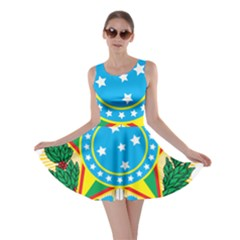 Coat of Arms of Brazil, 1968-1971 Skater Dress