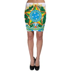 Coat of Arms of Brazil, 1968-1971 Bodycon Skirt