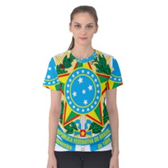 Coat of Arms of Brazil, 1968-1971 Women s Cotton Tee