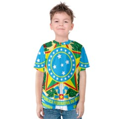 Coat of Arms of Brazil, 1968-1971 Kids  Cotton Tee
