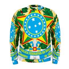 Coat of Arms of Brazil, 1968-1971 Men s Sweatshirt