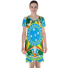 Coat of Arms of Brazil, 1968-1971 Short Sleeve Nightdress