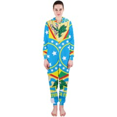 Coat of Arms of Brazil, 1968-1971 Hooded Jumpsuit (Ladies)
