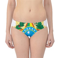 Coat of Arms of Brazil, 1968-1971 Hipster Bikini Bottoms