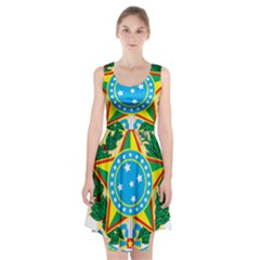 Coat of Arms of Brazil, 1968-1971 Racerback Midi Dress