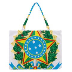 Coat of Arms of Brazil, 1968-1971 Medium Zipper Tote Bag