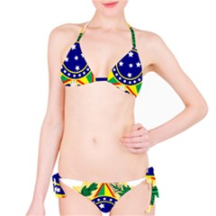 Coat of Arms of Brazil Bikini Set