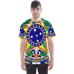 Coat of Arms of Brazil Men s Sport Mesh Tee