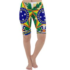 Coat of Arms of Brazil Cropped Leggings
