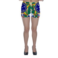 Coat of Arms of Brazil Skinny Shorts