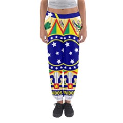 Coat of Arms of Brazil Women s Jogger Sweatpants
