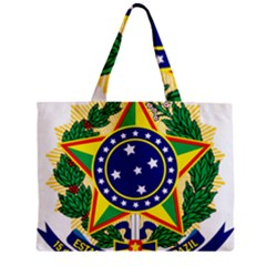 Coat of Arms of Brazil Zipper Mini Tote Bag