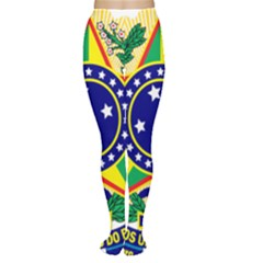 Coat of Arms of Brazil Women s Tights