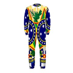 Coat of Arms of Brazil OnePiece Jumpsuit (Kids)