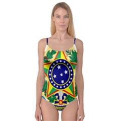 Coat of Arms of Brazil Camisole Leotard