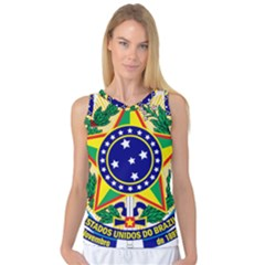 Coat of Arms of Brazil Women s Basketball Tank Top