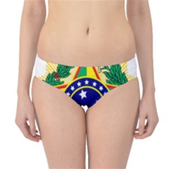 Coat of Arms of Brazil Hipster Bikini Bottoms