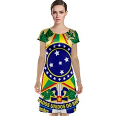 Coat of Arms of Brazil Cap Sleeve Nightdress
