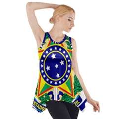 Coat of Arms of Brazil Side Drop Tank Tunic