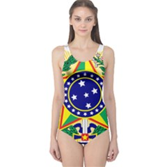 Coat of Arms of Brazil One Piece Swimsuit